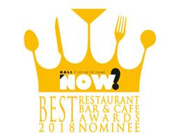 bali now best restaurant nominee 2018