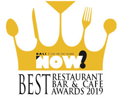 Now Bali Best Restaurant award 2019