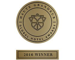 haute grandeur global hotel awards winner 2016