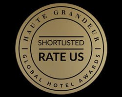 Haetu grandeur short listed global hotel awards shortlisted 2019