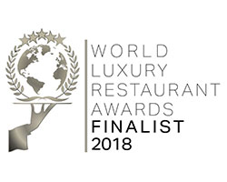 world luxury restaurant awards finalist 2018