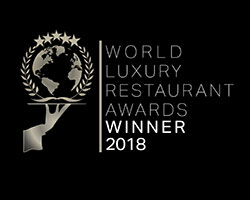 world luxury restaurant awards winner 2018
