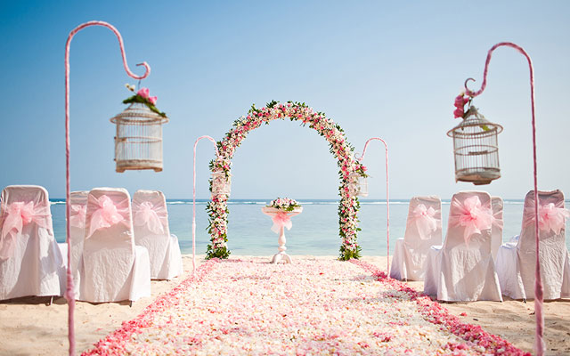Bali Beach Wedding Venue At Nusa Dua