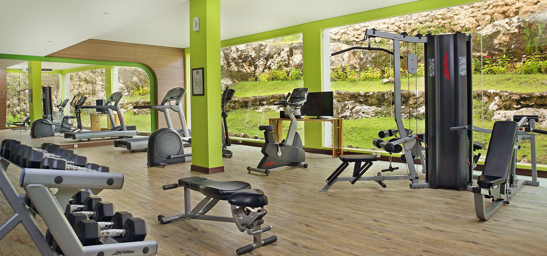 Fitness centre facilites
