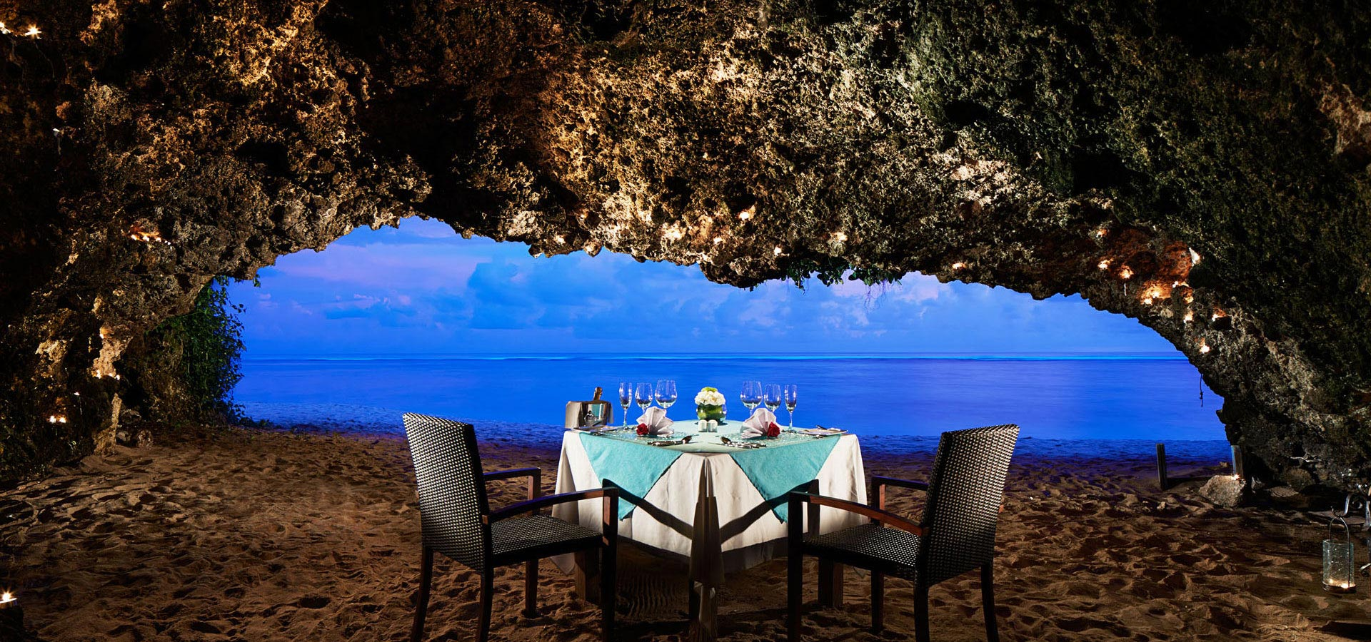 Private Cave Romantic Dinner at Samabe