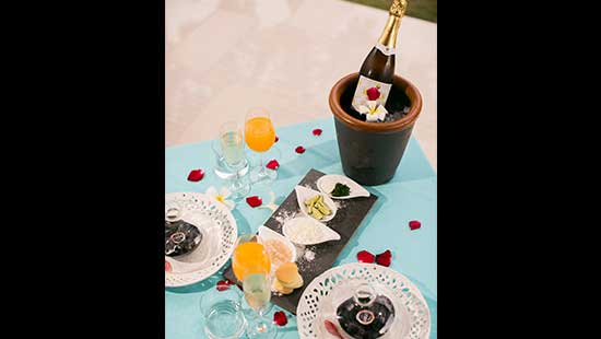 Champagne & Vintage Caviar Experience