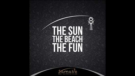The Sun The Beach The Fun
