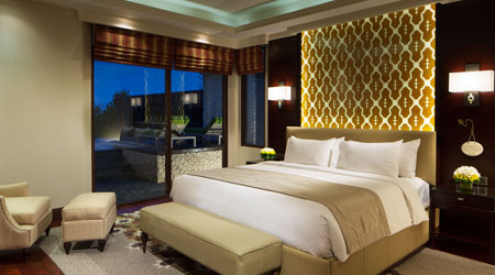 Bedroom at the Ocean Pool Villa