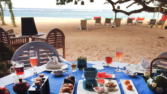 Beach Cave Afternoon Tea