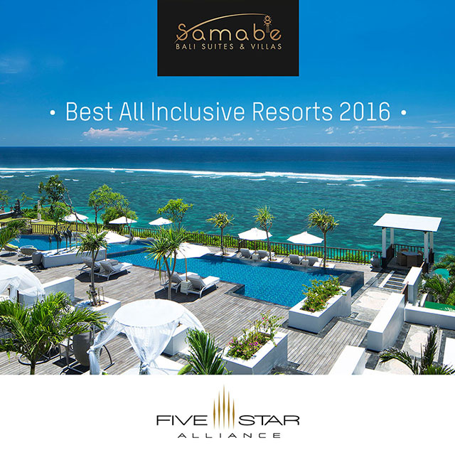 Samabe Bali Suites & Villas Has Been Announced as Best All Inclusive Hotel 2016