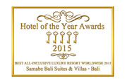 Samabe Bali Suites & Villas Is Announced as The Best All Inclusive Luxury Resort by Hotel of the Year