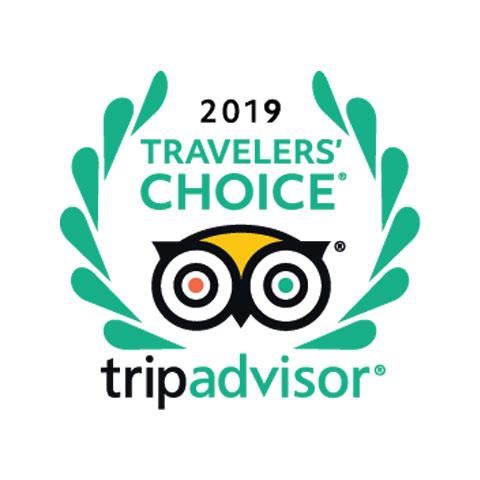 Tripadvisor travellers choice 2019