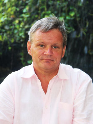 Mr. Ralf Luthe, General Manager of Samabe Bali Suites & Villas