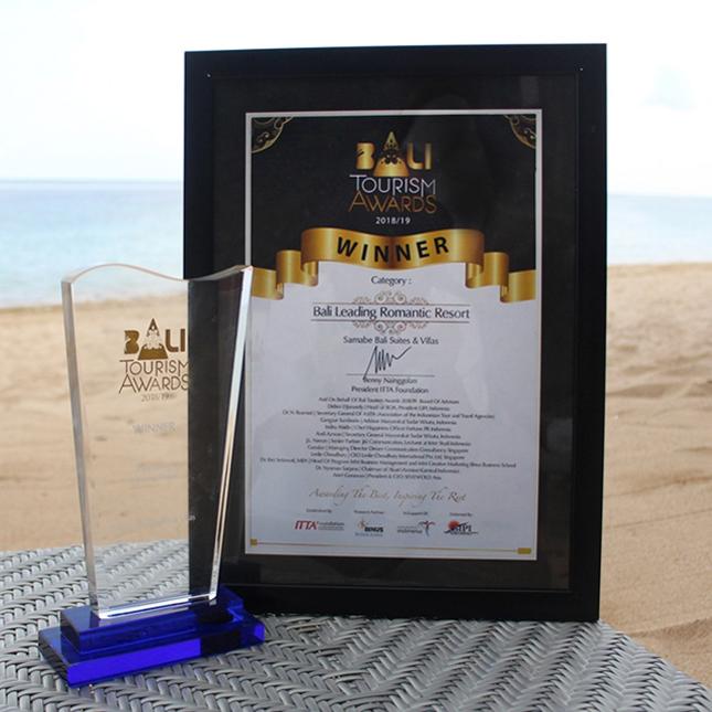 Bali tourism awards winner