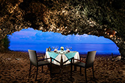 The Power of Love, Romantic Cave Dining on the Beach