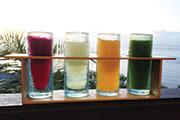 Vitamin Shots, Healthy Colorful Liquid